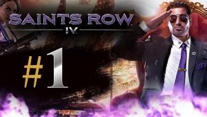 Saints Row 4 Gameplay Walkthrough Part 1 - The Saints Wing
