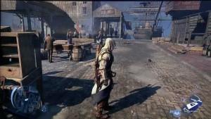 Assassin's Creed III - E3 2012: Wii U Marketplace Massacre Gameplay