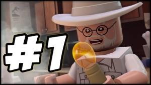 LEGO Jurassic World - PART 1 - PROLOGUE! (Gameplay Walkthrough HD) Gameplay