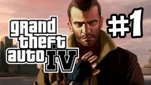 GTA IV Gameplay Walkthrough Part 1 - Intro (Let's Play) Gameplay