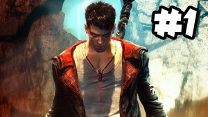 DMC Devil May Cry - Walkthrough Gameplay - Part 1 - NAKED ANGELS, ANGRY DEMONS (Xbox 360/PS3/PC HD) Gameplay