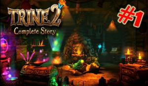 Trine 2 : Complete Story Gameplay/Walkthrough Part 1 The Story Begins (PS4) Gameplay