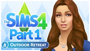 Let's Play The Sims 4: Outdoor Retreat - Part 1 (New Threads)