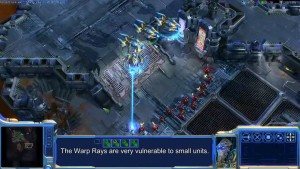 StarCraft II: Wings of Liberty - Protoss Gameplay Video
