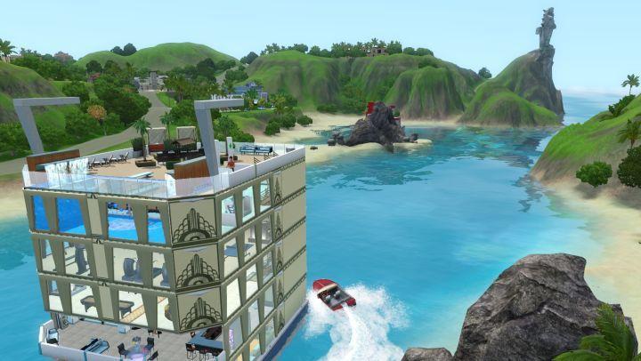 симс 3 райские острова фото курортов