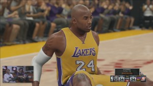 NBA 2K16 Full 4 Quarters Gameplay 5v5 Lakers vs Raptors Gameplay