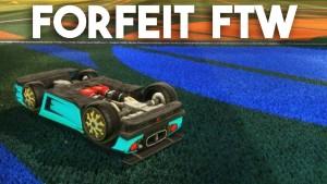 Rocket League Gameplay :: Forfeit FTW Gameplay
