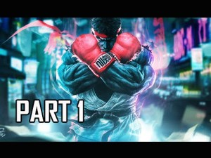 Street Fighter V Walkthrough Part 1 - Ryu & Ken Storyline (SFV Let's Play Gameplay  Commentary) Gameplay