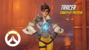 Tracer Gameplay Preview | Overwatch | 1080p HD, 60 FPS Trailer