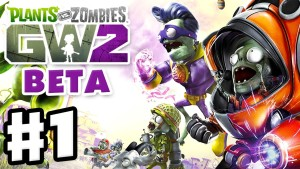 Plants vs. Zombies: Garden Warfare 2 Beta - Gameplay Part 1 - Backyard Battleground! (PvZGW2 Beta) Gameplay
