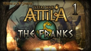 Total War: Attila - Gameplay ~ The Franks Campaign #1 - Saxon Blood! Gameplay