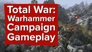 17 minutes of Total War: Warhammer Campaign Gameplay (Greenskins Campaign with dev commentary) Gameplay