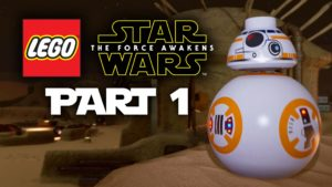 LEGO Star Wars The Force Awakens Gameplay Walkthrough Part 1 - INTRO (Full Game) Gameplay