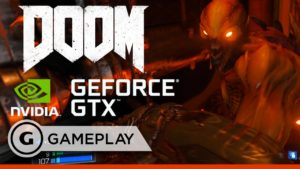 DOOM on NVIDIA GeForce GTX Titan X -  Official Gameplay Trailer