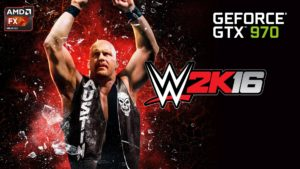 WWE 2K16 - GTX 970 MAX Settings - PC Gameplay - 1080p 60fps Trailer