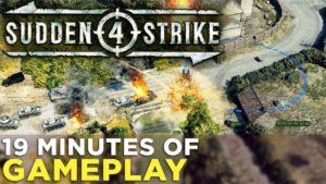 Sudden Strike 4: 19 Minutes of GAMEPLAY from the Single-Player Campaign! Gameplay