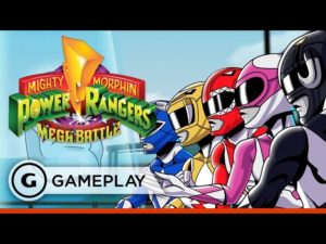 Mighty Morphin Power Rangers: Mega Battle - King Sphinx Boss Fight Gameplay