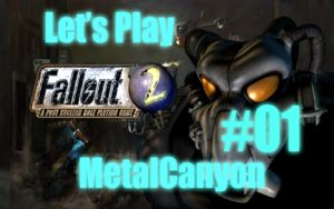 Let's Play Fallout 2 (part 1 - Chosen One) Gameplay